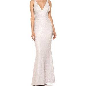 Dress the Population Mermaid Sequin Gown